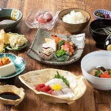 旬の味覚を愉しめる季節の懐石料理