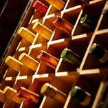 各種ワインを種類豊富にご用意しています