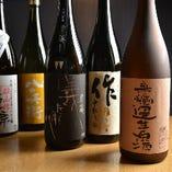 三重県や東海の地酒を取り揃えております。まれにプレミアムの銘柄に出会えることも。
