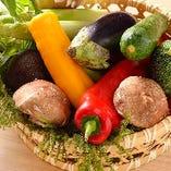 ましろやは野菜にもこだわります。新鮮な野菜を使った逸品も多数ございます。