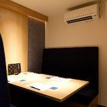 個室:入口すぐそばの完全個室。洗練された大人の上質空間【6名様×1卓】