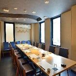 2F個室:部署宴会やご親族の集まりにおすすめ【最大16名様までご利用可能】