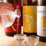 料理に合う旨い銘酒を、三重県を中心に取り揃えております。