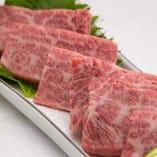 美しい霜降り肉をご堪能ください