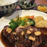 「イベリコ豚ステーキ弁当」