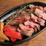 【希少部位】アンガス牛のめがね肉の炙り