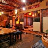 外せない大事なご宴席でも対応可能な個室空間を完備