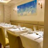 記念日誕生日等特別なご宴席にも対応可能なテーブル席(2名様~4名様)