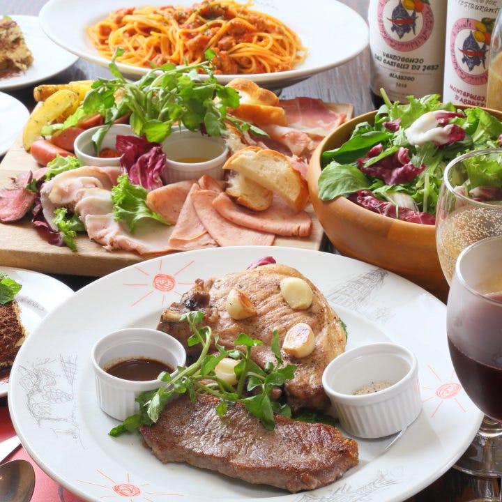 各種パーティやご宴会に最適のコース料理を豊富にご用意!