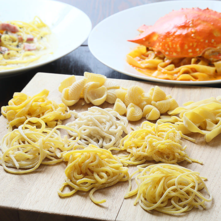 イタリアや気仙沼産の食材を使用