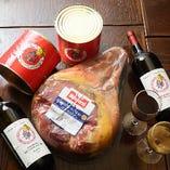 【厳選食材】 イタリア全土から様々な種類を仕入れています