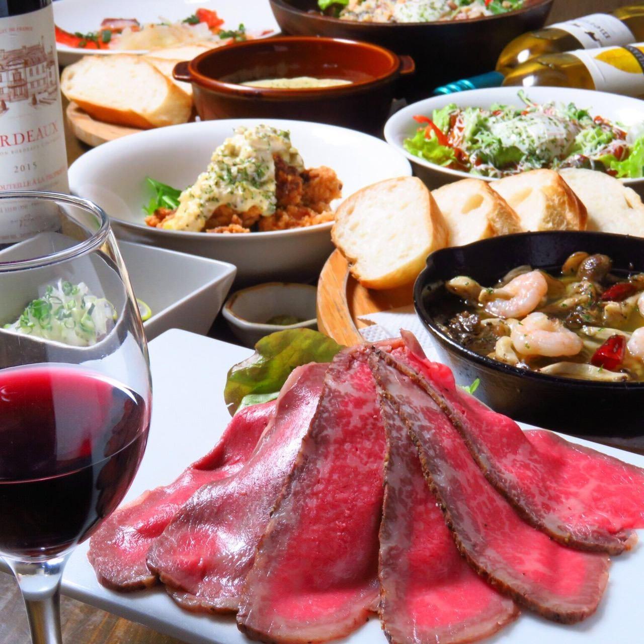 食材や調理法までこだわった、とろける肉料理が自慢です