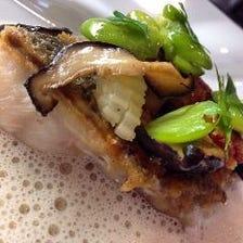 お魚のポワレ ブールブランソース