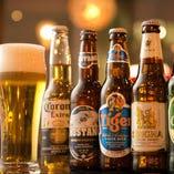 【世界のビール】 DRAFT BEERにWORLD CRAFT BEERまで充実☆