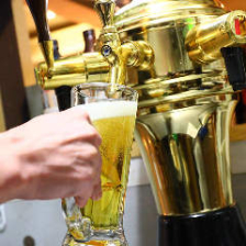 【日~木限定!90分飲み放題プラン】半個室空間で乾杯!生ビール、焼酎、日本酒など約40種〈喫煙可〉