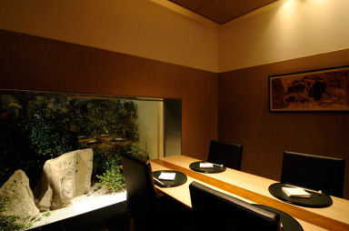 日本料理 縁 庭のホテル 東京 店内の画像
