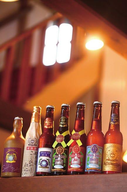 お得に飲める自社醸造のビール