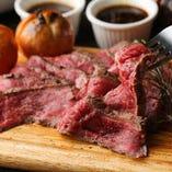 牛肉のタリアータ