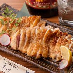 阿波尾鶏モモ肉の炭火焼き
