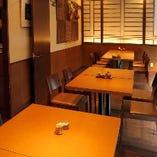 【半個室/テーブル席】《~22名様》大人数でのご宴会が可能♪忘年会・歓送迎会