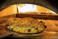 一枚一枚丹念に焼いた自家製ピザ