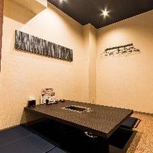 くつろぎの個室空間