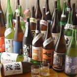 日本酒の飲み放題は野毛エリアでは初!日本酒は40種以上をご用意