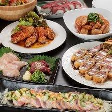 【飲み放題付き】やっぱり肉好き!今宵は肉欲に溺れる!『お肉満喫の宴コース』