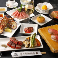 極上和牛や厳選した高級食材の鉄板焼きを贅沢に楽しむ!グルメコース