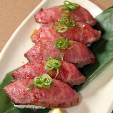 熊野牛炙り寿司