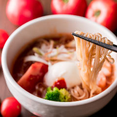 トマトスープ冷麺