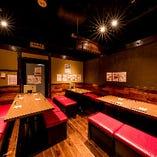 テーブル席個室(12~18名様)