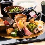 京都で修行を積んだ大将の京料理でおもてなし。
