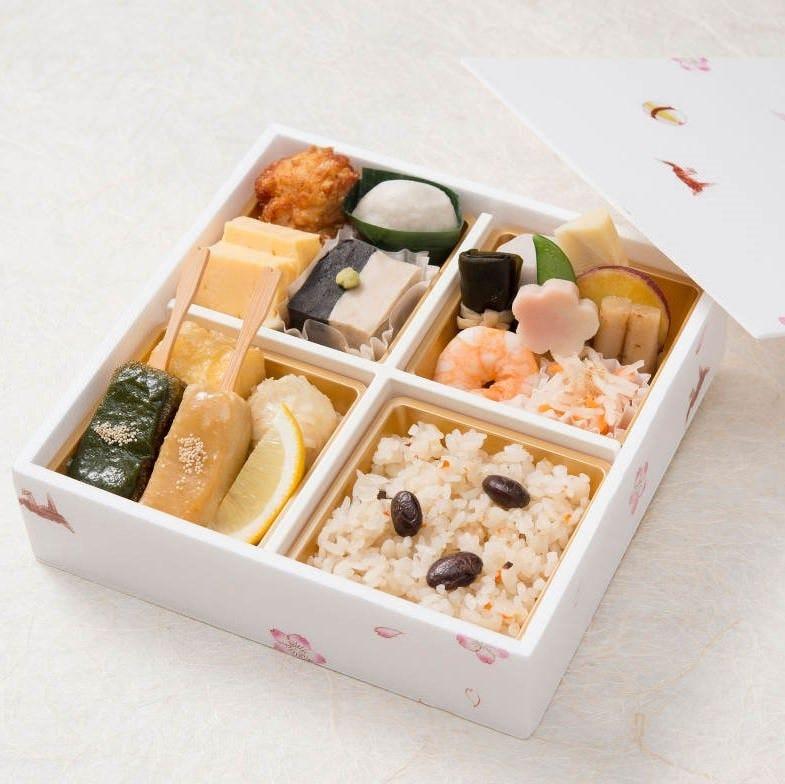 自慢の料理がお手軽に楽しめる『梅香弁当』はお得な1,280円!