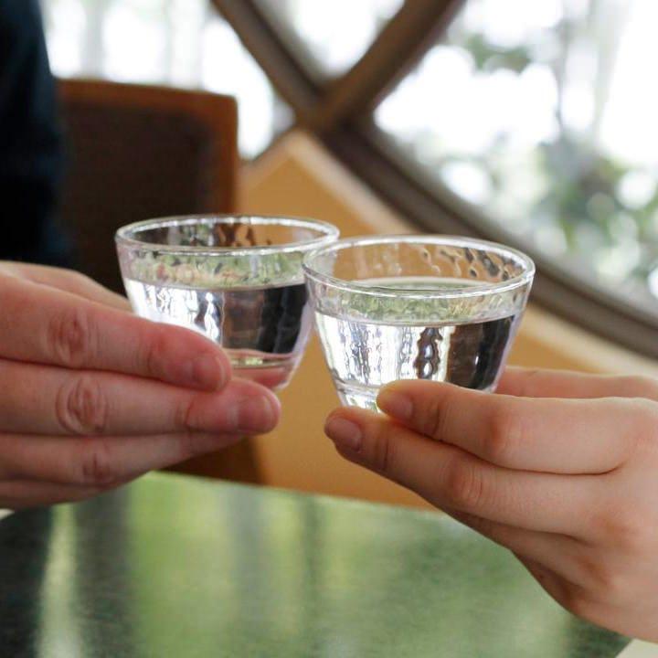 懐石料理にあう日本酒を梅の花が厳選
