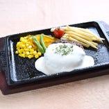 クリームチーズハンバーグ