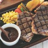 オリーブ牛ステーキ2部位食べ比べ