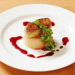 西京味噌で漬けたフォアグラのふろふき大根ステーキ