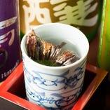 5,000円以上飲み放題付コースをご利用のお客様に「ふぐひれ酒」をご提供します♪