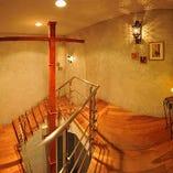 地下への階段を降りてください