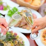 イタリア産スパークリングワイン