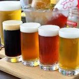 クラフトビール飲み放題!料理内容はお任せコース