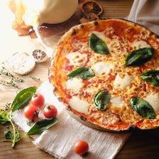 大宮初☆クリスピー生地のローマピザ
