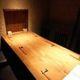 完全個室のお席は接待や宴会など