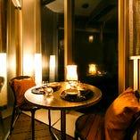 御茶ノ水の夜景を見ながら非日常的な時間をお過ごし下さい。