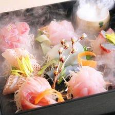 「目利きが厳選した美味しい鮮魚」美味しさはもちろんの事通常では手に入りにくい魚も入荷します。