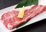 上ロースステーキ(タレ/塩)