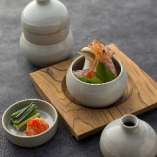 甘鯛と茸のトックリ蒸し 680円