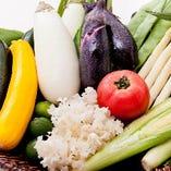 契約農家より直送の新鮮野菜 焼き野菜でどうぞ!