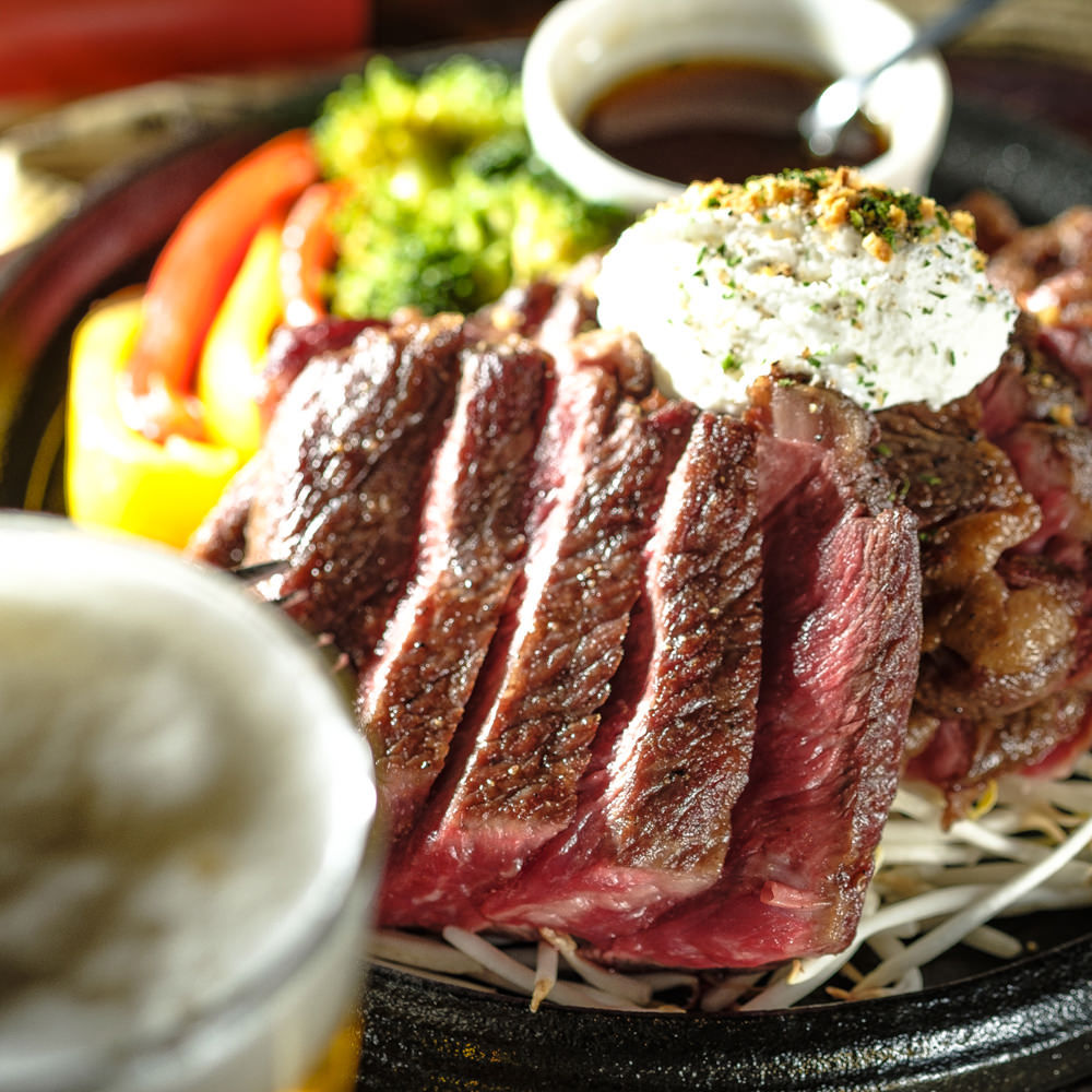 【赤身肉】US産アンガス牛ステーキ!